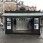 JCDecaux recycle le kiosque de presse vide de Meudon en point de vente de légumes