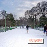 La Neige à Paris ce 10 février 2021