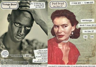 Vintage Bazar 3 , Expo peinture, photo et marché rétro !
