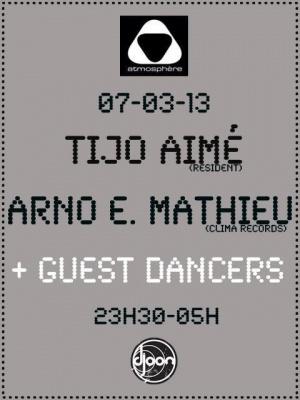 Atmosphere avec Tijo Aimé Arno E. Mathieu + guest dancers