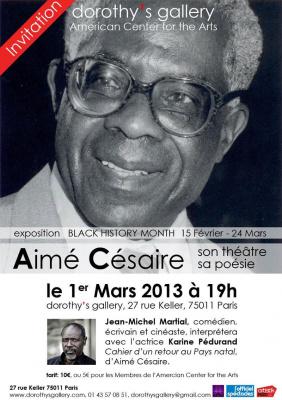 sur les mots d'Aimé Césaire
