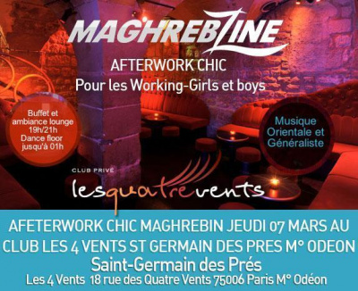 Afterwork chic et maghrébin