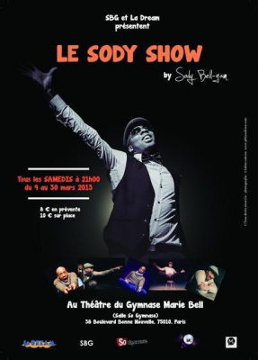 LE SODY SHOW -HUMOUR-DANSE-PARODIE - BY SODY BELL-GAM