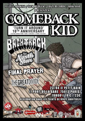 Comeback Kid + guests