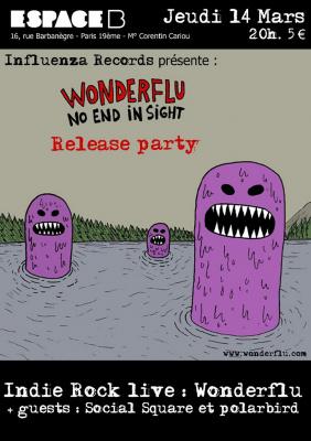 Release Party WONDERFLU
