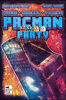 PACMAN PARTY #13 W/ LOUIE CUT