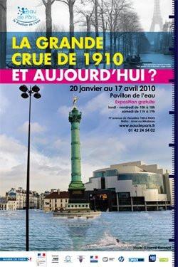 """Exposition """"La Grande Crue de 1910"""" © Mairie de Paris"""