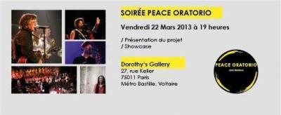 Showcase Peace Oratorio