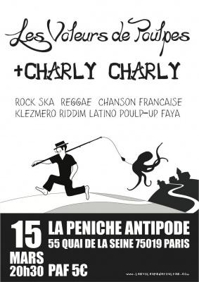 Voleurs de Poulpes (première partie Charly Charly)