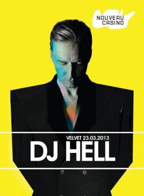 VELVET invite DJ HELL