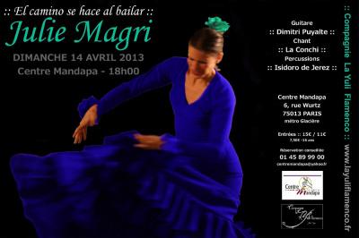 Spectacle de flamenco traditionnel :: El Camino se hace al bailar