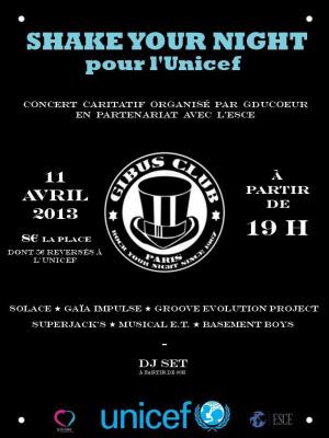 Concert pour l'UNICEF