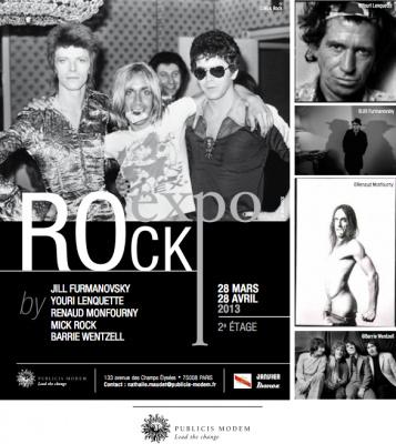 Rock expo au Publicis Drugstore