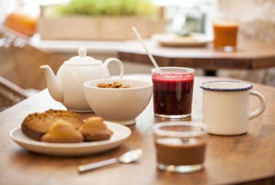 Le petit dej' healthy du café Pinson