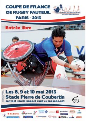 Coupe de France de rugby-fauteuil au Stade Pierre de Coubertin
