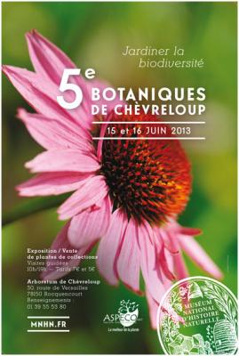 """5e botaniques de Chèvreloup : """"Jardiner la biodiversité"""""""