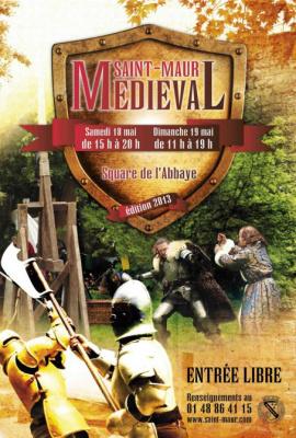 Fête Médiévale de Saint-Maur au Parc de l'Abbaye