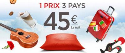 La promotion des hôtels Ibis, 45 € la nuit !