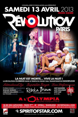 REVOLUTION PARIS