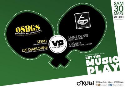 VERSUS #1 OSBGS vs TROGLODYTES EVENT