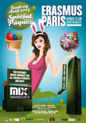 Erasmus Paris : Special Pâques