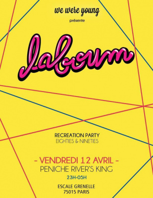 La Boum - Recreation Party 80-90