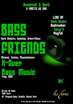 ASS FRIENDS : X-OVER BASS MUSIC
