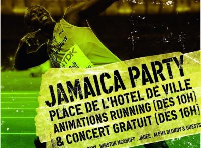 Jamaica Party Usain Bolt