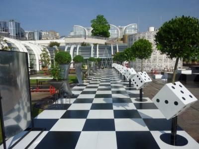 Terrasse d'été Forum des halles