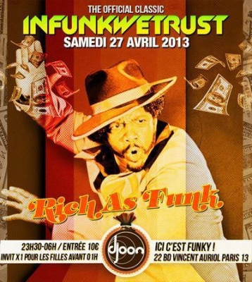 "INFUNKWETRUST ""Rich as Funk"""