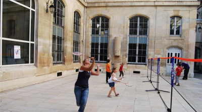 Badminton Paris Plages
