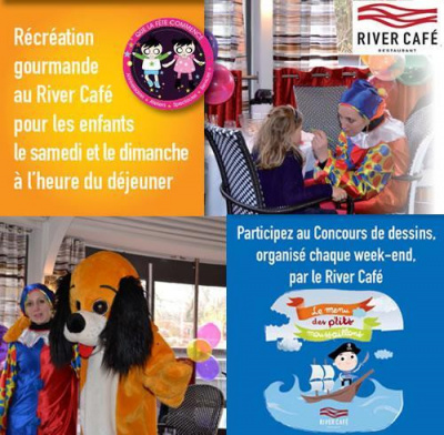 Les animations enfants du week-end du River Café