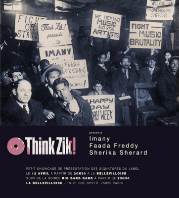 THINK ZIK LIVE! avec Imany + Faada Freddy + Sherika Sherard