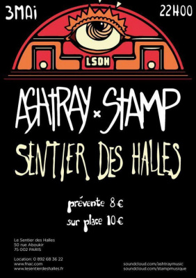 Concert STAMP+ASHTRAY