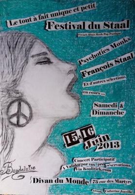 Damien Vanni en concert participatif au Divan du Monde