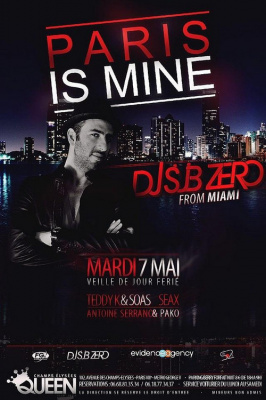 Paris is Mine : Dj Sub Zero from MIAMI