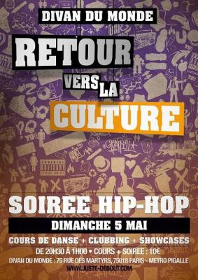 Soirée Hip Hop Juste Debout
