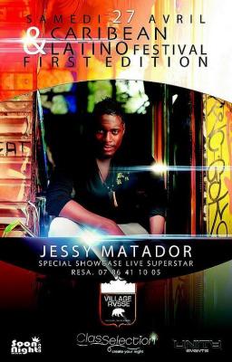 ?• Caribbean & Latino Festival Spécial Guest Jessy Matador Showcase LIVE @ Village Russe •?