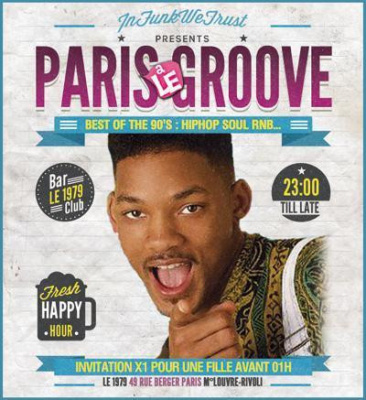 PARIS A LE GROOVE