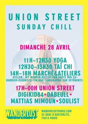 UNION STREET SUNDAY CHILL