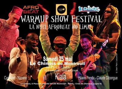WarmUp Show Festival : La nuit Afrobeat No Limit