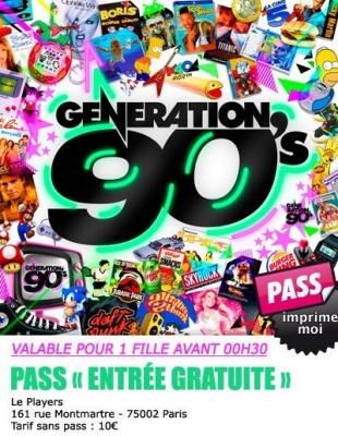 génération 90