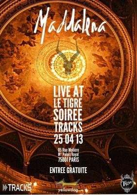 Maddalena - Soirée Tracks d'ARTE Tv au Tigre by l'Alternative