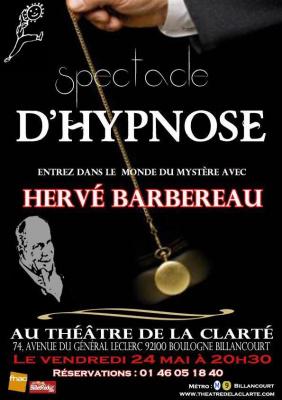 Spectacle d'Hypnose - Hervé Barbereau