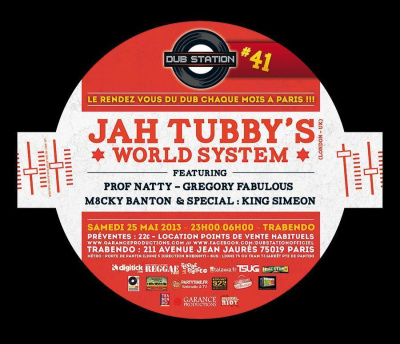 Dub Station #41 : Jah Tubby's World System