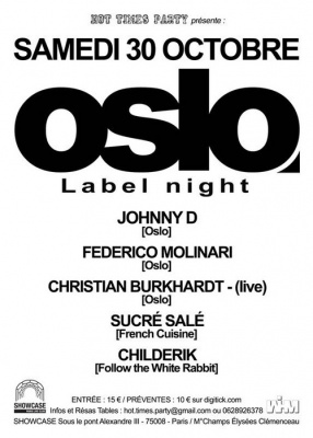 Oslo Label Night