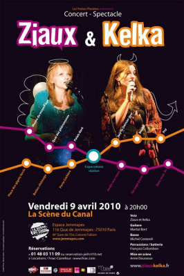 Ziaux et kelka novembre 2010 Paris