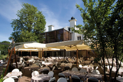Restaurant l'Ile à Issy-les-Moulineaux