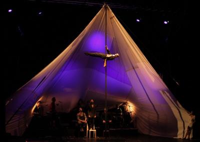 Blast de la compagnie Zanzibar, cirque Farouche au Cirque Electrique
