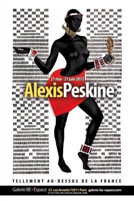 Tellement au-dessus de la France - Exposition Clou de Gueule d'Alexis Peskine